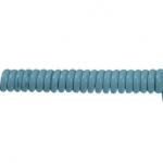 productfoto Spiraal kabel grijs