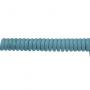 Spiraal kabel grijs