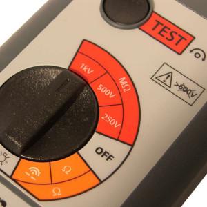 Afbeelding van Megger isolatie meter