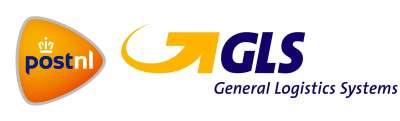 Logo van GLS en postnl