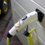Type 1 stekker met mogelijkheid voor beveiliging
