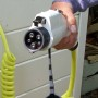 Type 1 stekker conform IEC62196-2 en SAE1772