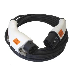Type1 – kabel zwart – Type 2