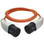 Type2 (male) Orange kabel Type2 (male)