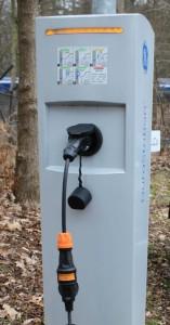 Verlopp ingeplugt bij een plug&charge lader