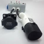 Laadpunt tester voor laadpunten zonder kabels en met vaste kabels