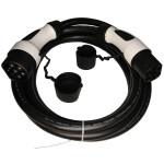 Laadkabel elektrische autos Witte stekkers zwarte kabel