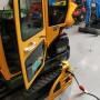 Inbouw van EV stopcontact in graafmachine