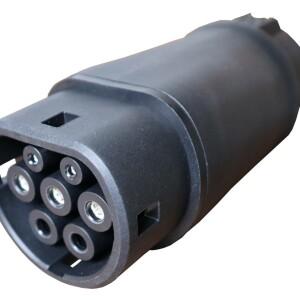 Adapter T1 T2 voertuigzijde